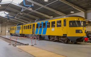 Dieseltreinstel DE2 Blauwe Engel (Museum Transit Oost Winterswijk)