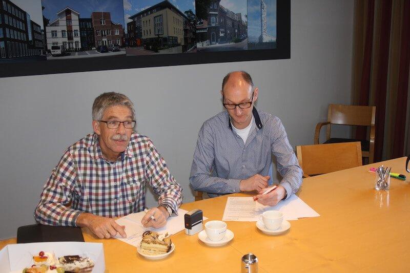 bouwcontract-tekenen